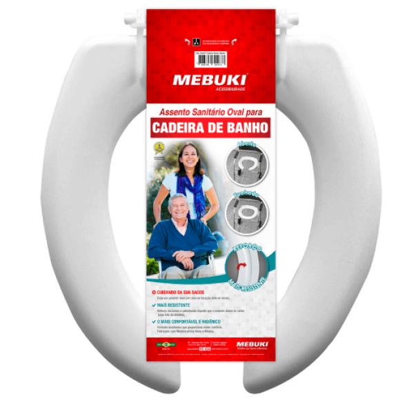 ASSENTO SANITÁRIO PARA CADEIRA DE BANHO ABERTO – MEBUKI – VENDA